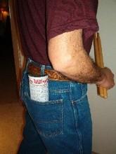 Rudi-Pad in Back Pocket Pic